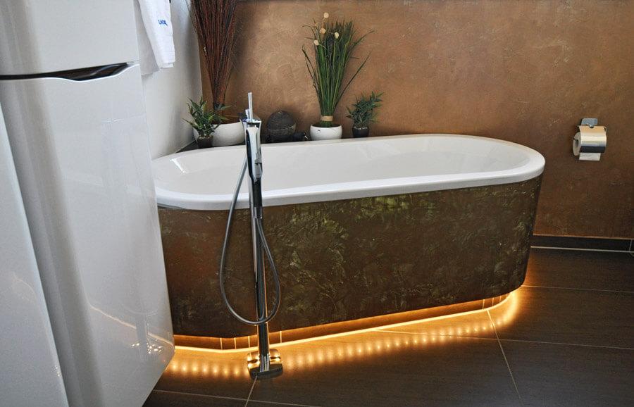 Wohlfühlwelten im neuen Haus: Dusch- und Wannenbad, Gästebadezimmer und Gäste-WC